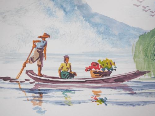 ミャンマーの絵 pic019