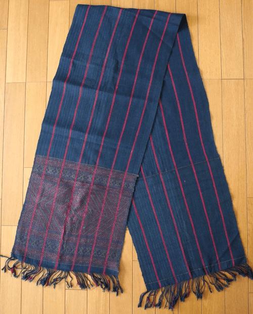 チン族の手織り布 ctm017