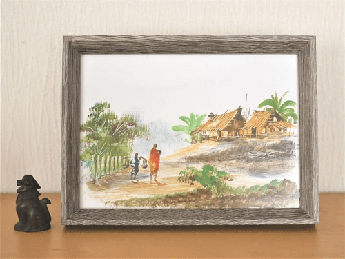 ミャンマーの絵 pic011