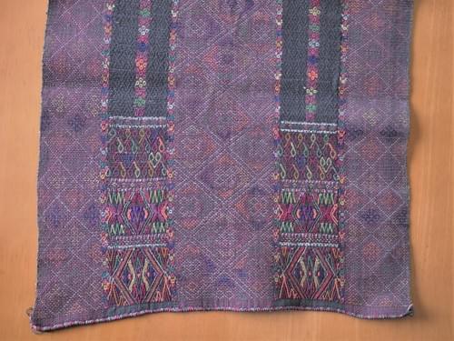 カミ族の手織りアンティーク布 cb129