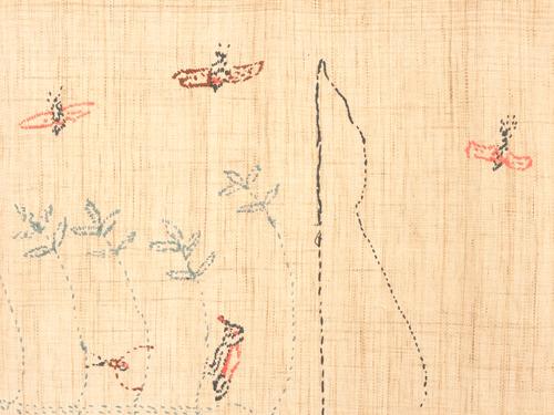 ナガ族の布 nab003