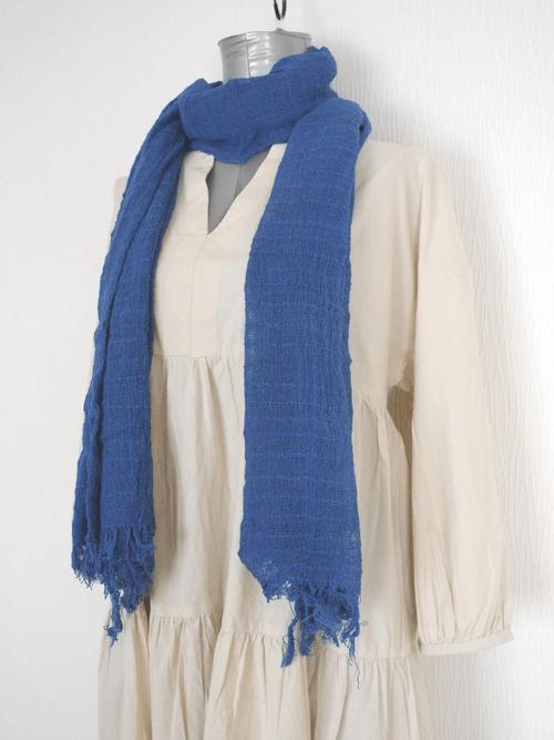 インレー湖の手織りコットンスカーフ its001