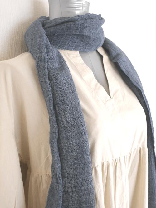 インレー湖の手織りコットンスカーフ its004