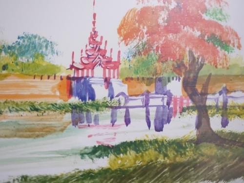 ミャンマーの絵 pic017