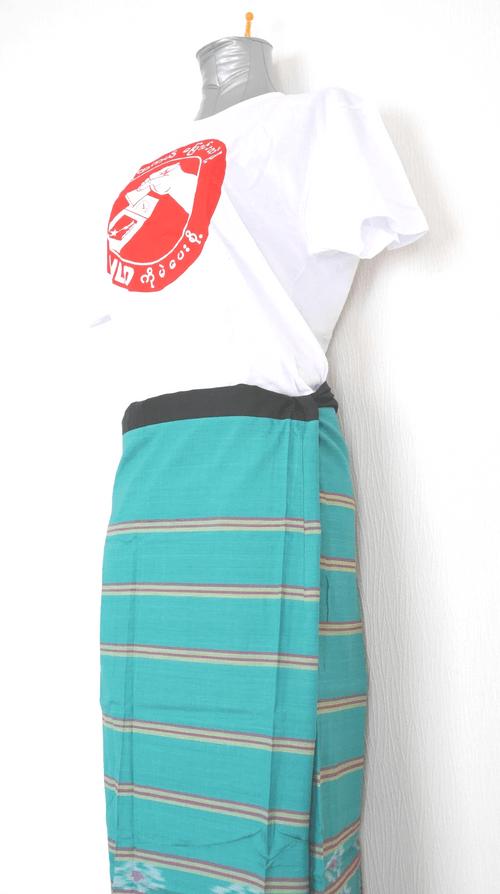 女性用ロンジー(シルク混紡) lo272
