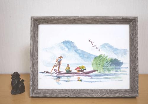 ミャンマーの絵