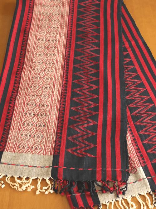 ナガ族の布 chb102