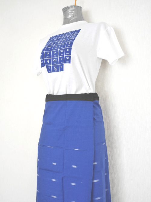 女性用ロンジー(シルク混紡) lo271