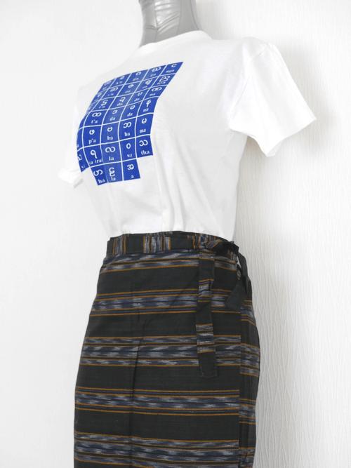 女性用ロンジー(スカート)  lo408