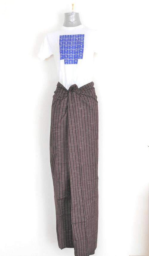 男性用ロンジー (カチン族)