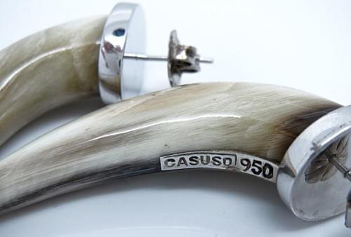 Horn Post Earring