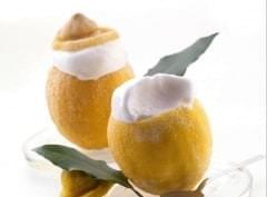 natural lemon sorbet