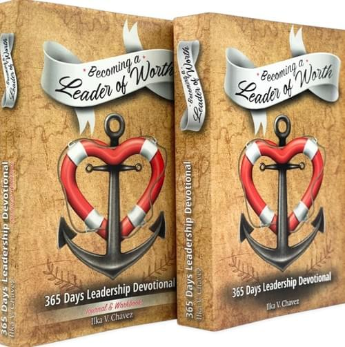 Becoming A Leader Of Worth Bundle (Devotional + Journal)