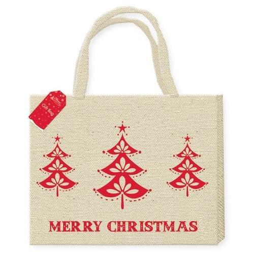 Jute / Burlap Shopping Bag
