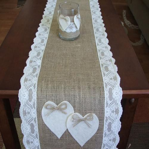 Jute/Burlap Table Runner
