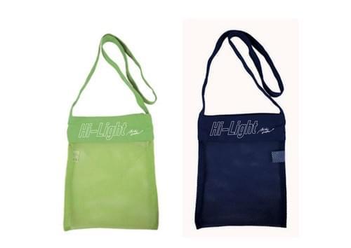 【西恵利香】Hi-Light mesh pouch