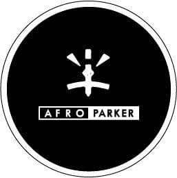 【AFRO PARKER】Logo COASTER