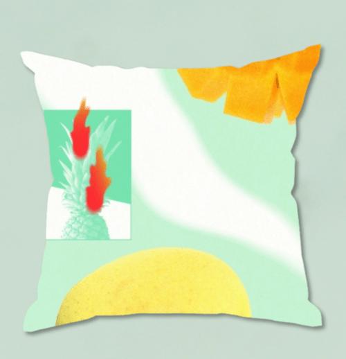 【西恵利香】Hi-Light cushion