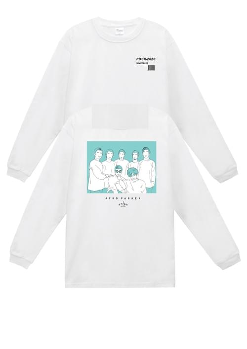 【collabo goods】PDC L/S T-shirts(AFRO PARKER ver.)