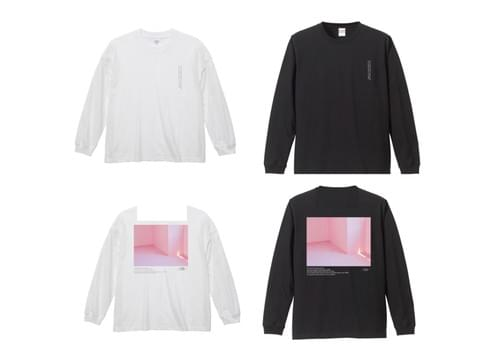 【西恵利香】PINK L/S T-shirts