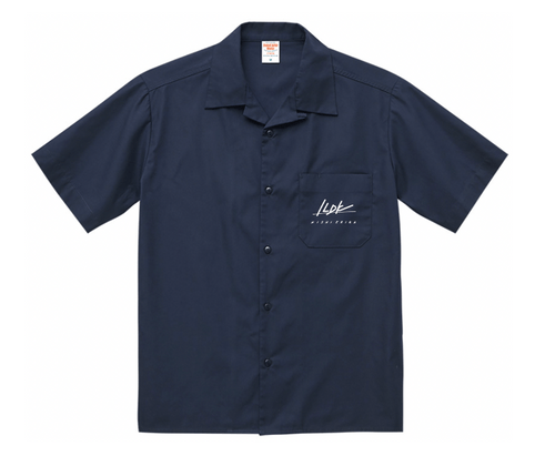 【西恵利香】1LDK Shirts (Open Collar)