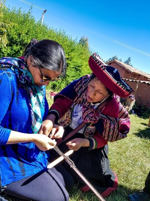 Cusco Tour | Ancient weaving technique workshop