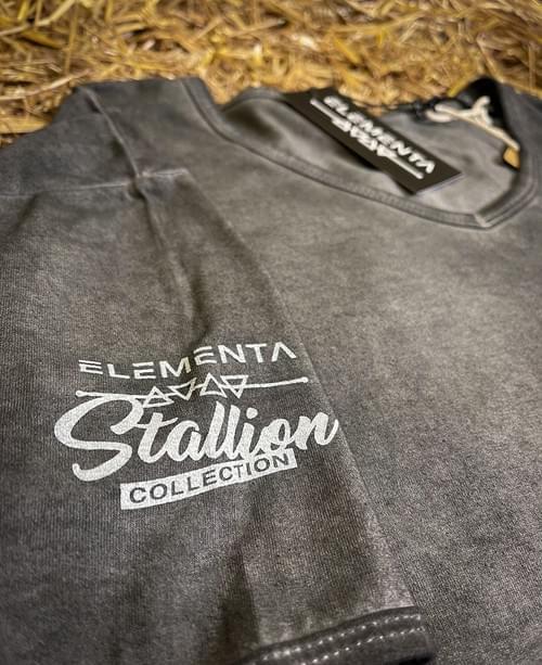 Ebony Trashya graphite T-shirt for men