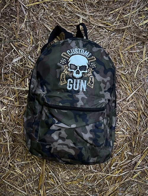 Camo CMG Patch Backpack