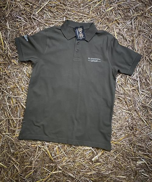 Yellow Jersey olive green Polo shirt for men