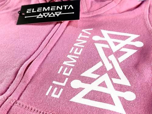 ELEMENTA Pink Zipped Hoodie