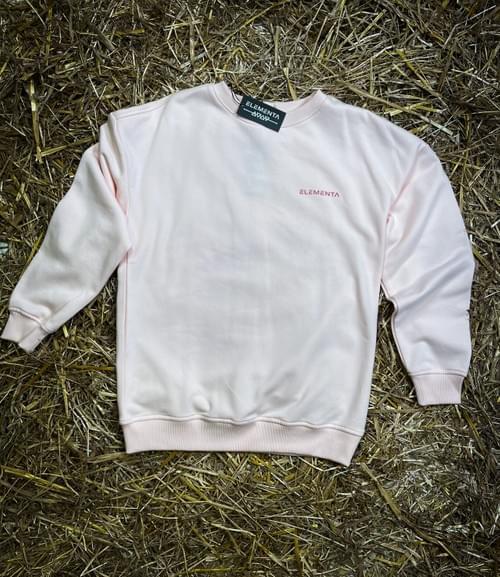 ELEMENTA Pink Sweatshirt for ladies