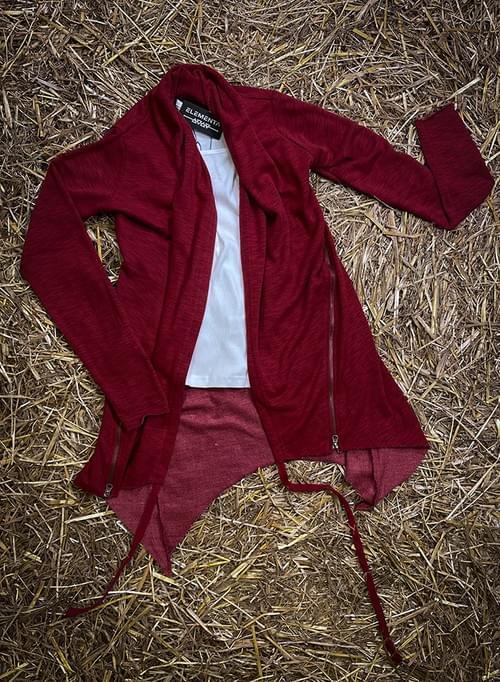 Red Cardigan for ladies