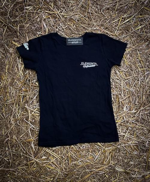 Phantom Face Black T-shirt for ladies