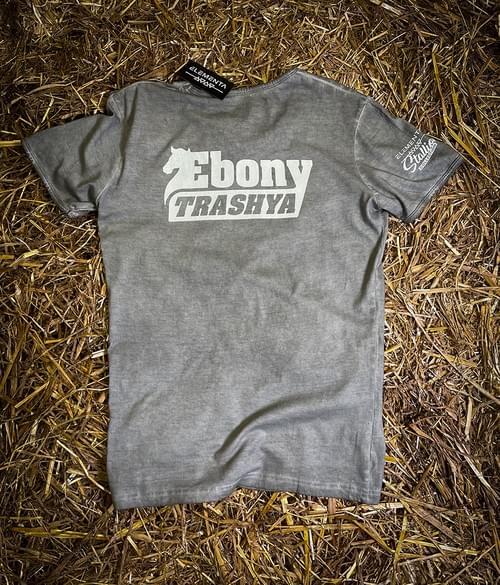 Ebony Trashya Grey T-shirt for men