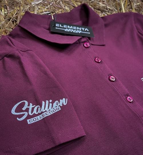 Ebony Trashya Polo shirt for ladies
