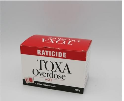 TOXA overdose rats et souris