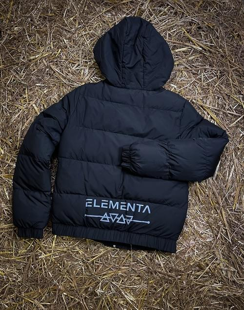 ELEMENTA Green Down Jacket for ladies