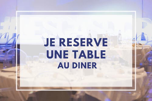 Réservation de table pour 6 convives - Dispositif COVID-19