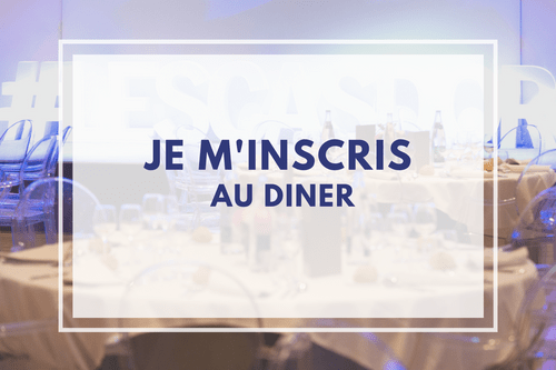 Inscription individuelle au dîner