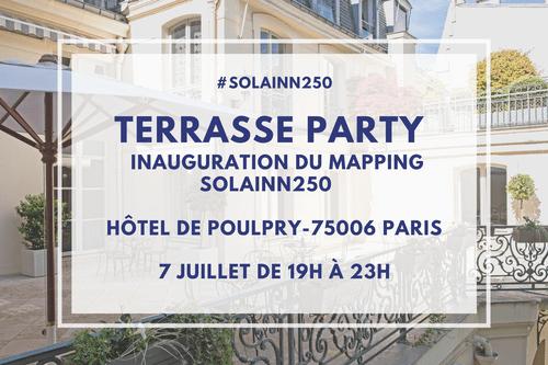 Participation à la soirée d'inauguration du SOLAINN250
