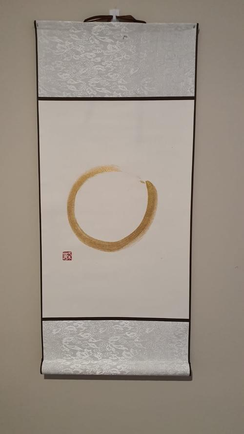 Golden Zen Circle
