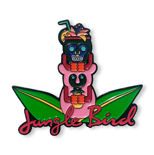 Glow in the Dark JungleBird Pin