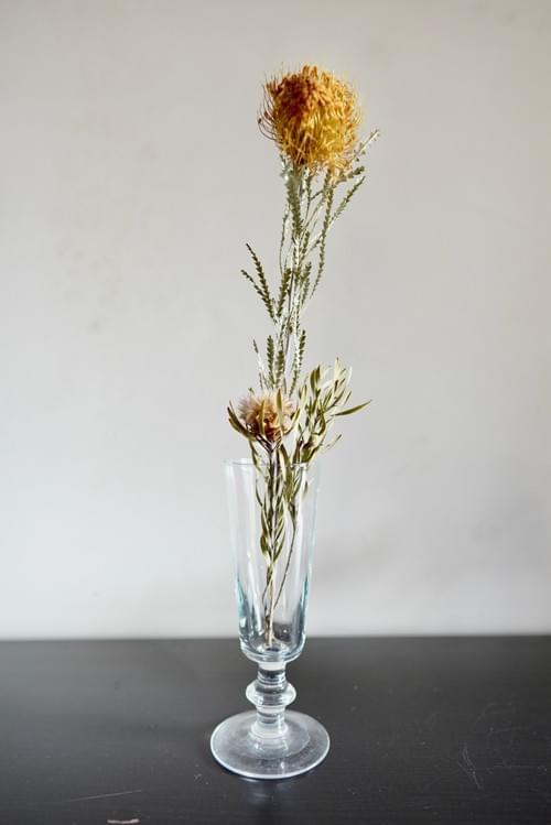 glass flower vase  ♯01