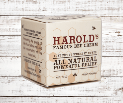 Harold's Famous Bee Cream 1 Fl. Oz. Jar