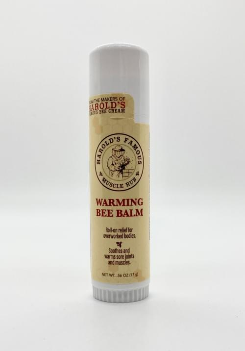 Warming Bee Balm Muscle Rub 0.56oz (17gm)