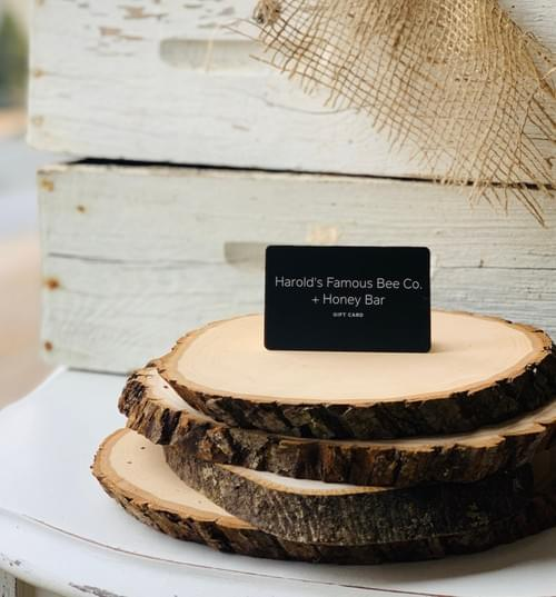 HFBCo. + Honey Bar Gift Card