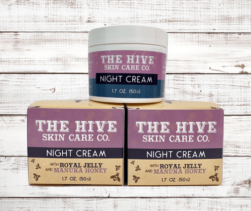 The Hive Night Cream 1.7oz (50g) by Harold's Famous Bee Co.