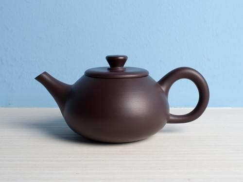 Handmade Zisha Clay Teapot by Wu Chen-ta (#ZCT0006)