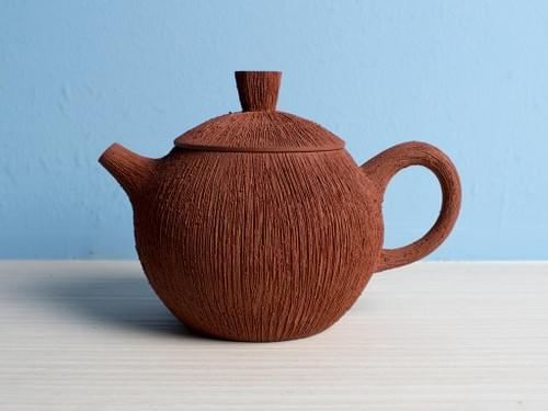 Handmade Zisha Clay Teapot by Wu Chen-ta (#ZCT0007)