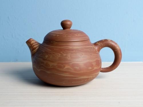 Handmade Twisted Clay Teapot by Wu Chen-ta (#MCT0001)